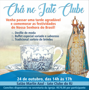 Chá no Iate Club – 24/10/2017