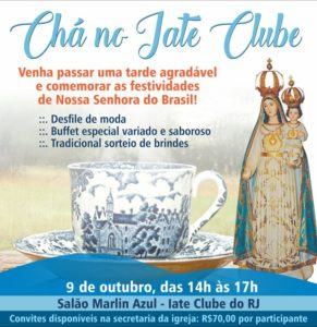 Chá no Iate Club – 09/10/18