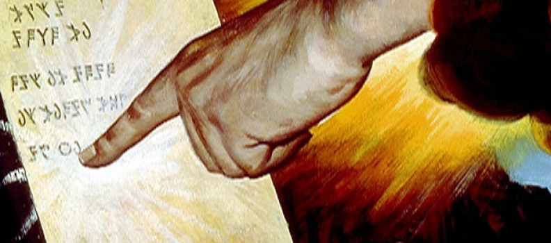 º Encontro – Mandamentos – A primeira tábua: amor e culto a Deus