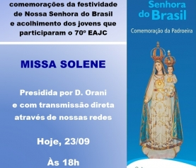 Missa Solene – 23/09