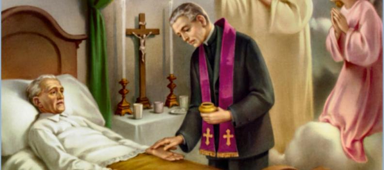 7º Encontro – A Unção dos Enfermos – o sacramento que cura