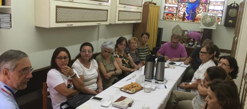 Primeira Reunião do Conselho Paroquial de Pastoral em 2015